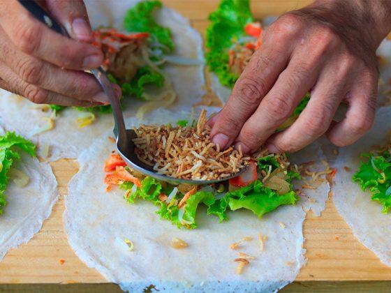 plat thaï asiatique
